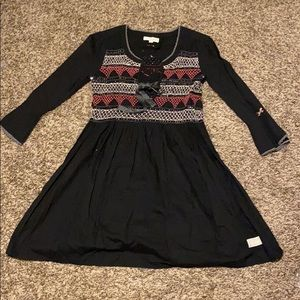 Odd Molly Classic Remix Smocked Embroidered Dress